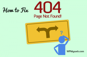 How to Fix Error 404 Page Not Found